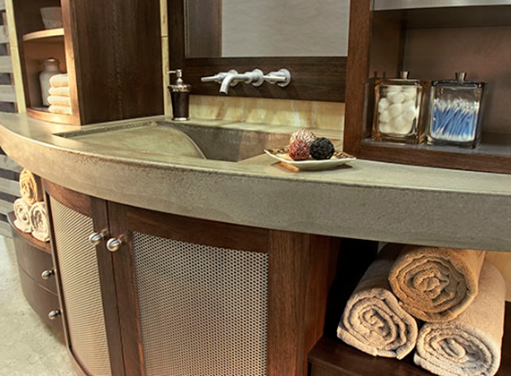 Ramsey Hill Cabinetry Modern Bath